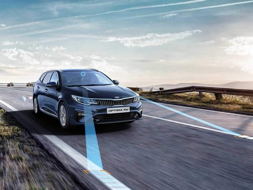 Kia Optima Sportswagon Lane Keeping Assist